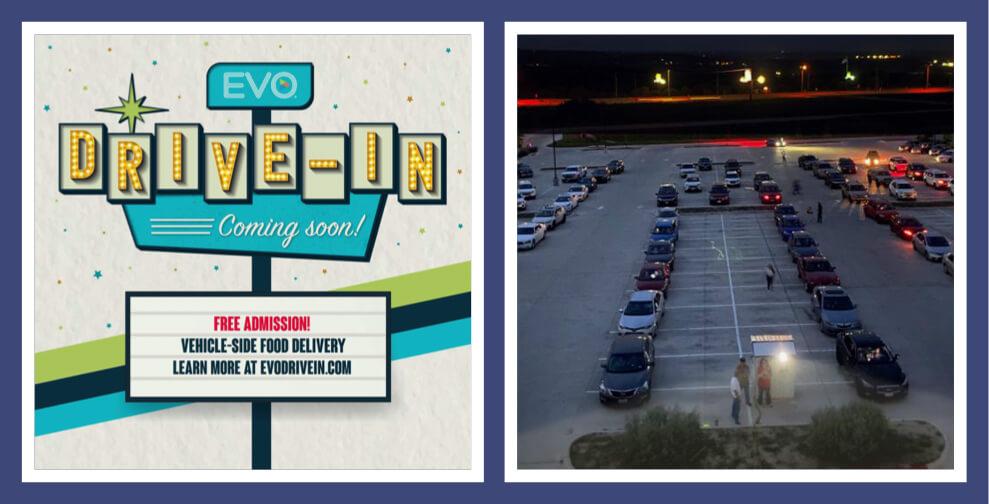 Evo Entertainment's drive in cinema