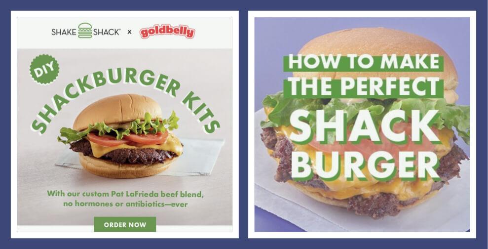 Shake Shack's Shackburger kits