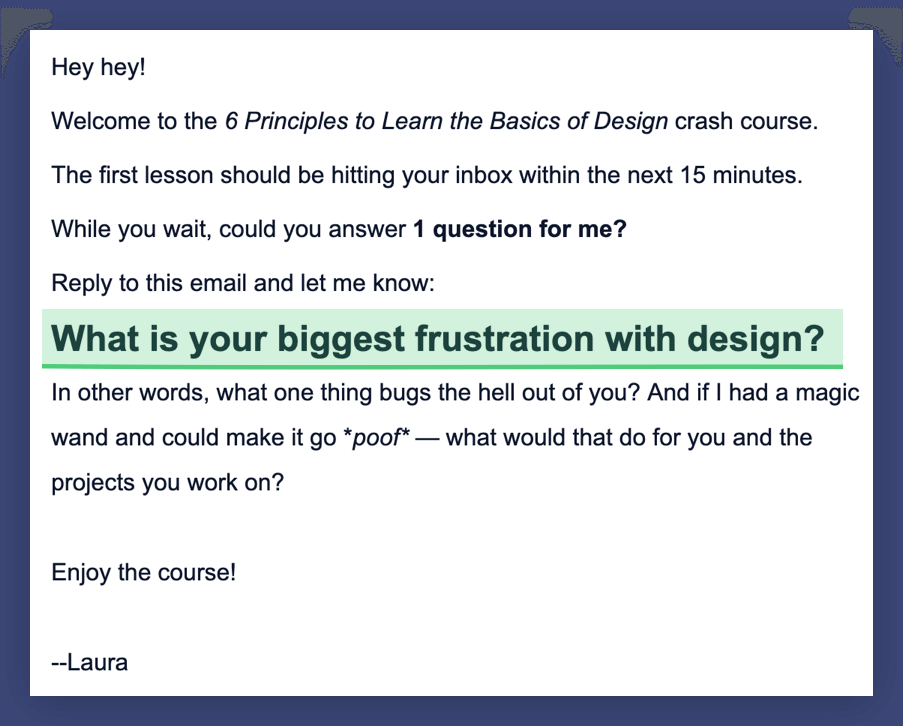 Design Academy email